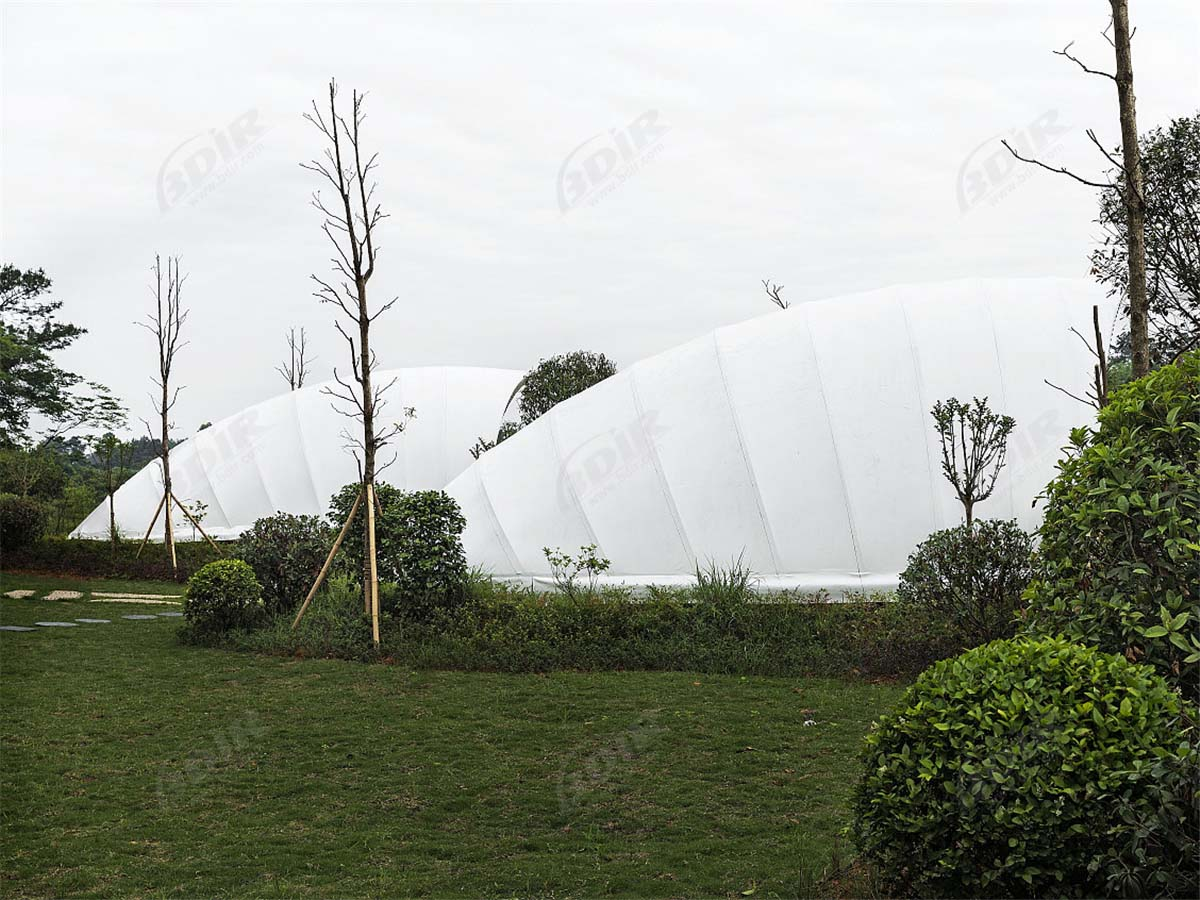 Luxury Cocoon Glamping Tent House - Eco Tent Lodges Manufacturer