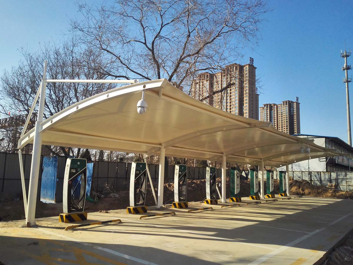 New Energy Vehicles Charging Station Canopy, electric vehicle charging stations Roof
