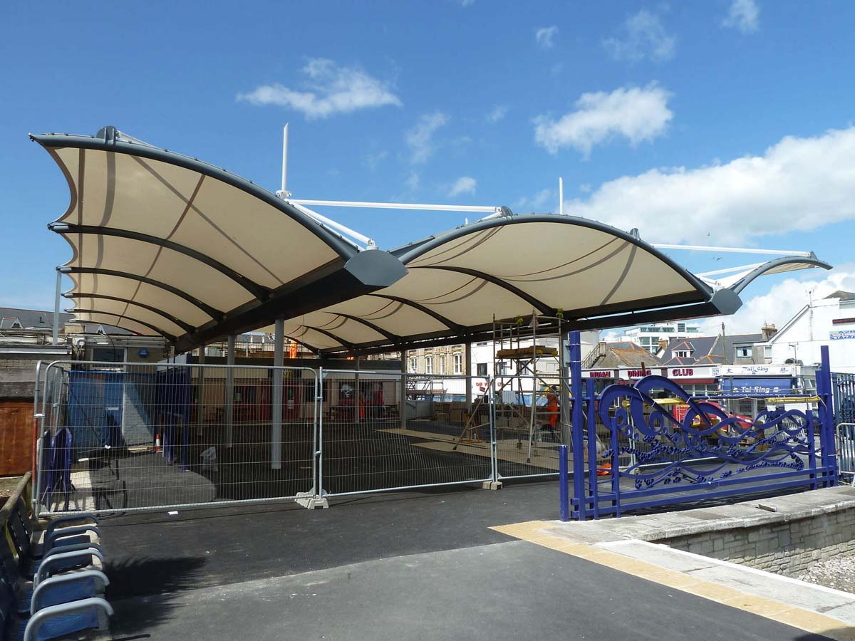 Outdoor GYM Fitness Center Canopy - Build Health Club Shade Structures