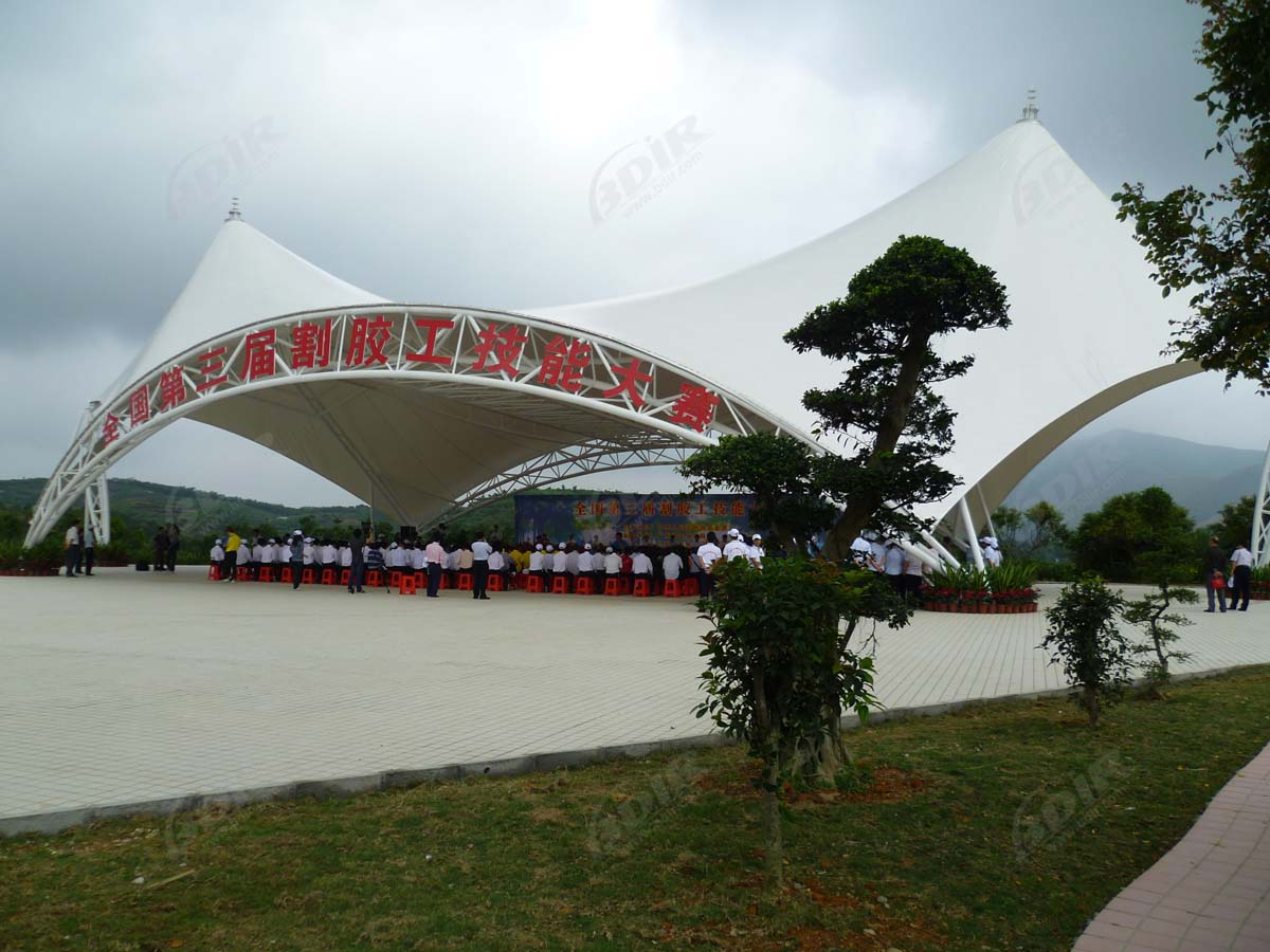 Tensile Structures for Amphitheater, Open Air & Outdoor Theater Canopy