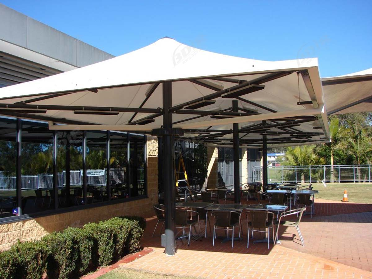 Outdoor Umbrella Tensile Structure - Shades, Sails ...