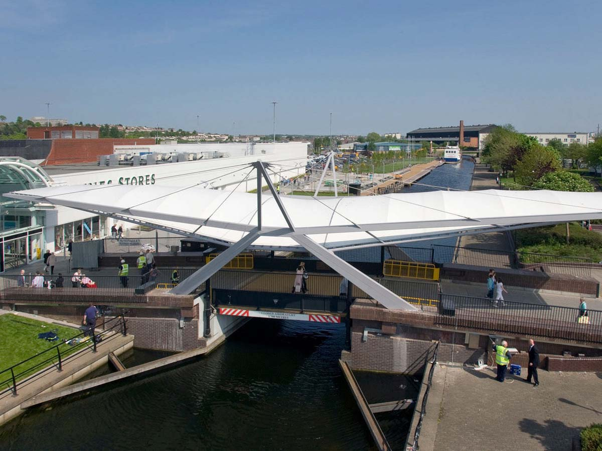 Bridge Tensile Membrane Structures - Tensile Fabric Structures for Bridge