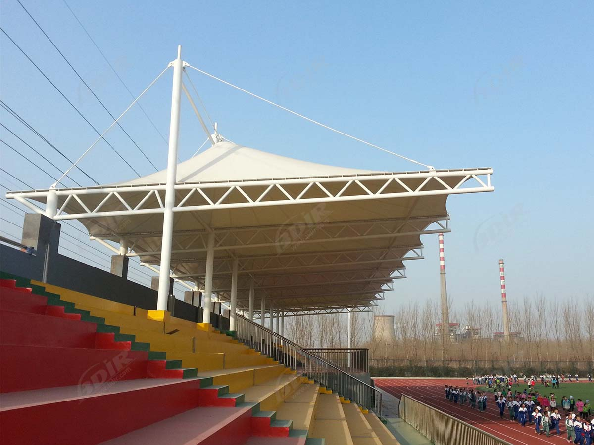 Customize Tensile Structures for Bleacher, Spectator Grandstands Roofs