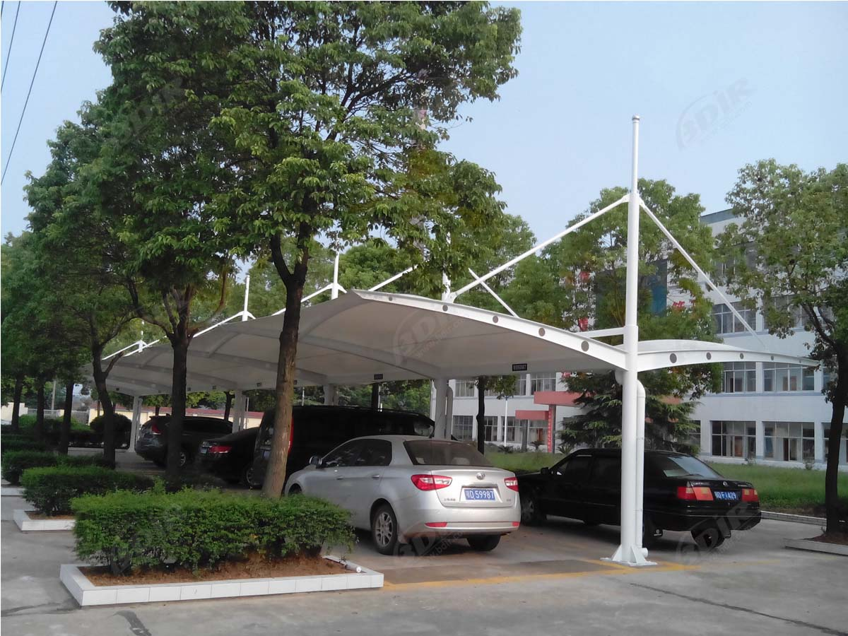 Tensile Structures for Cantilever Car Parking Shade, Sheds, Canopies - Double Bay