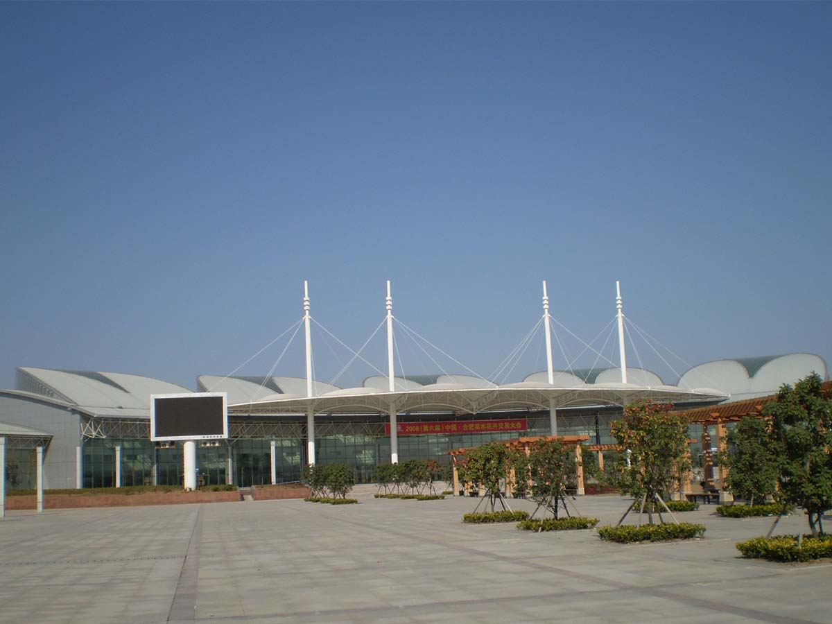 Tensile Structures for Convention and Exhibition Center, Events and Exhibitions