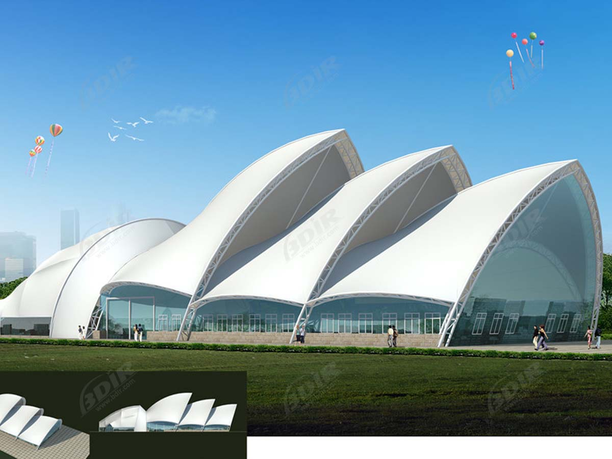 Tensile Structures for National Museum - Art, Science, Natural History Venue