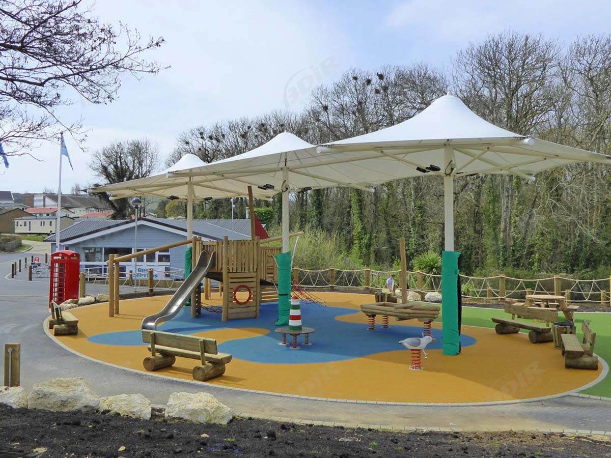 Tensile Structures for Outdoor Amusement & Theme Park, Adventure Playground