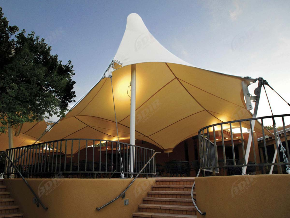 Tensile Structures for Pub, Bar, Casino - Fabric Canopies, Awnings, Shelters