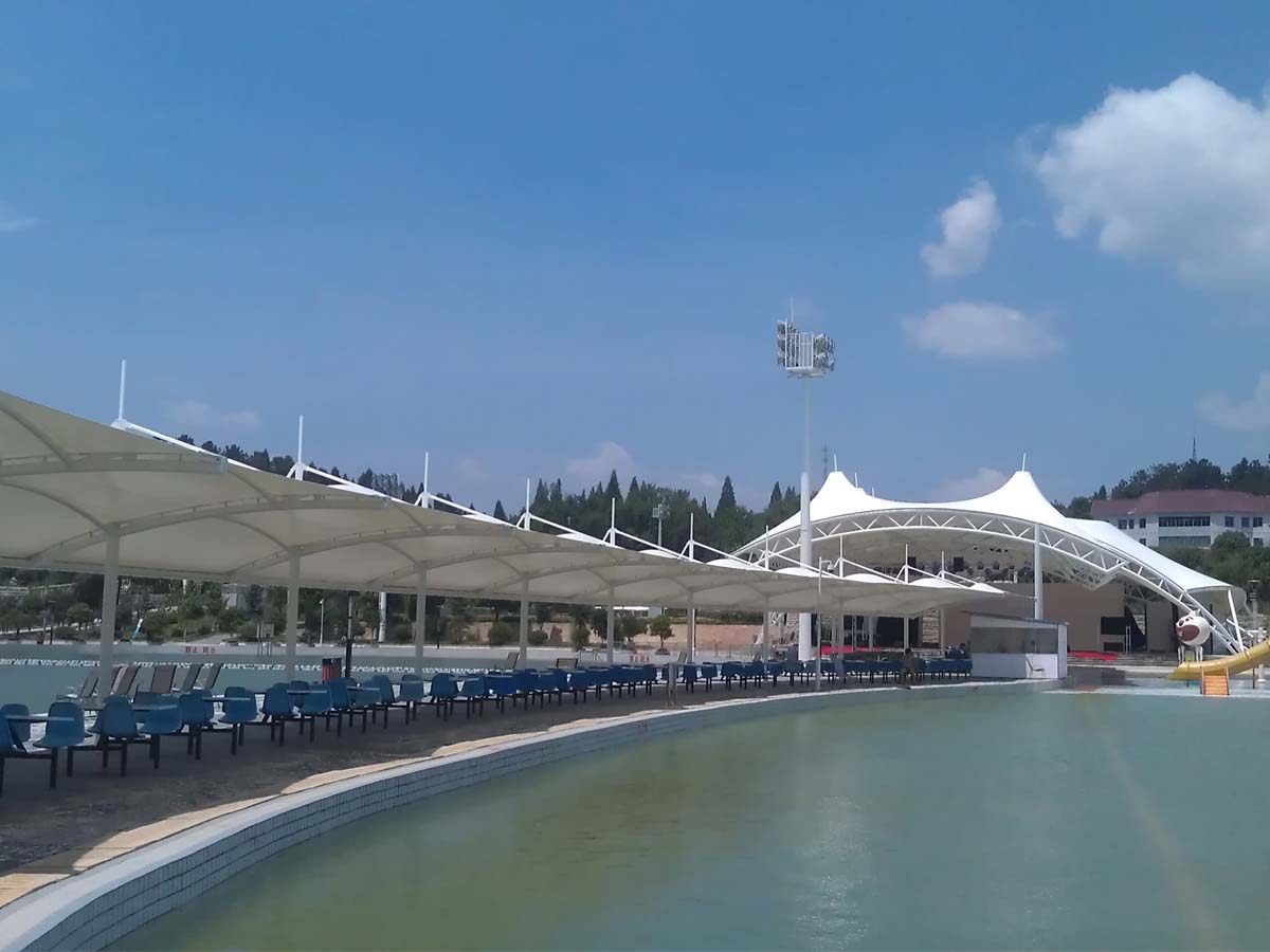 Theme & Water Parks, Aqua World, Water Activities Centre Tensile Structure