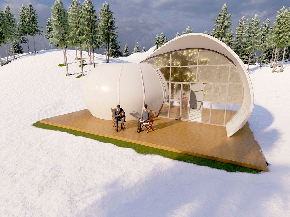 Unique Luxury Camping Tent Hotel & Canvas Shelter Glamping Resort
