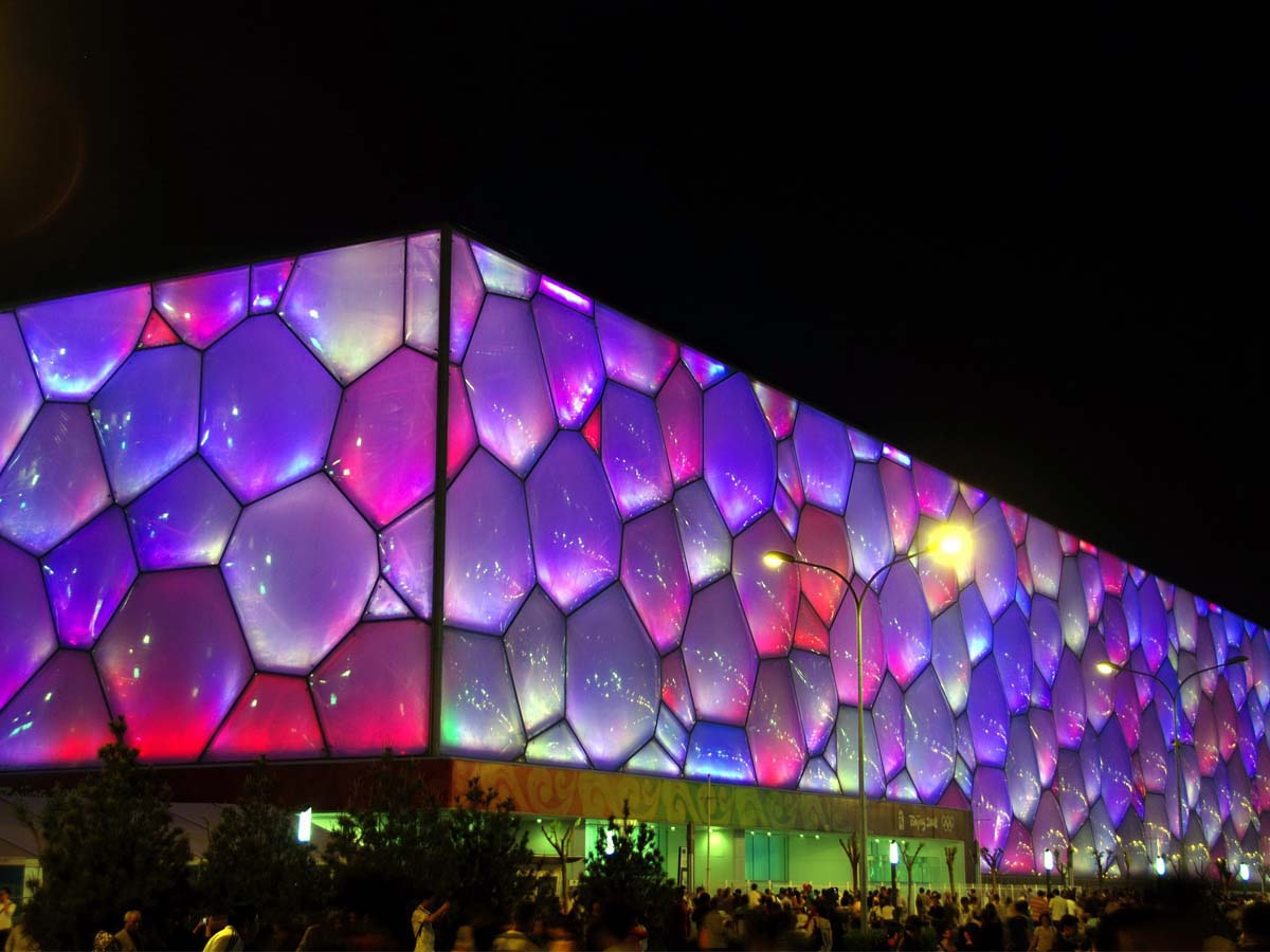 Water Cube - The World's Largest ETFE Application Project