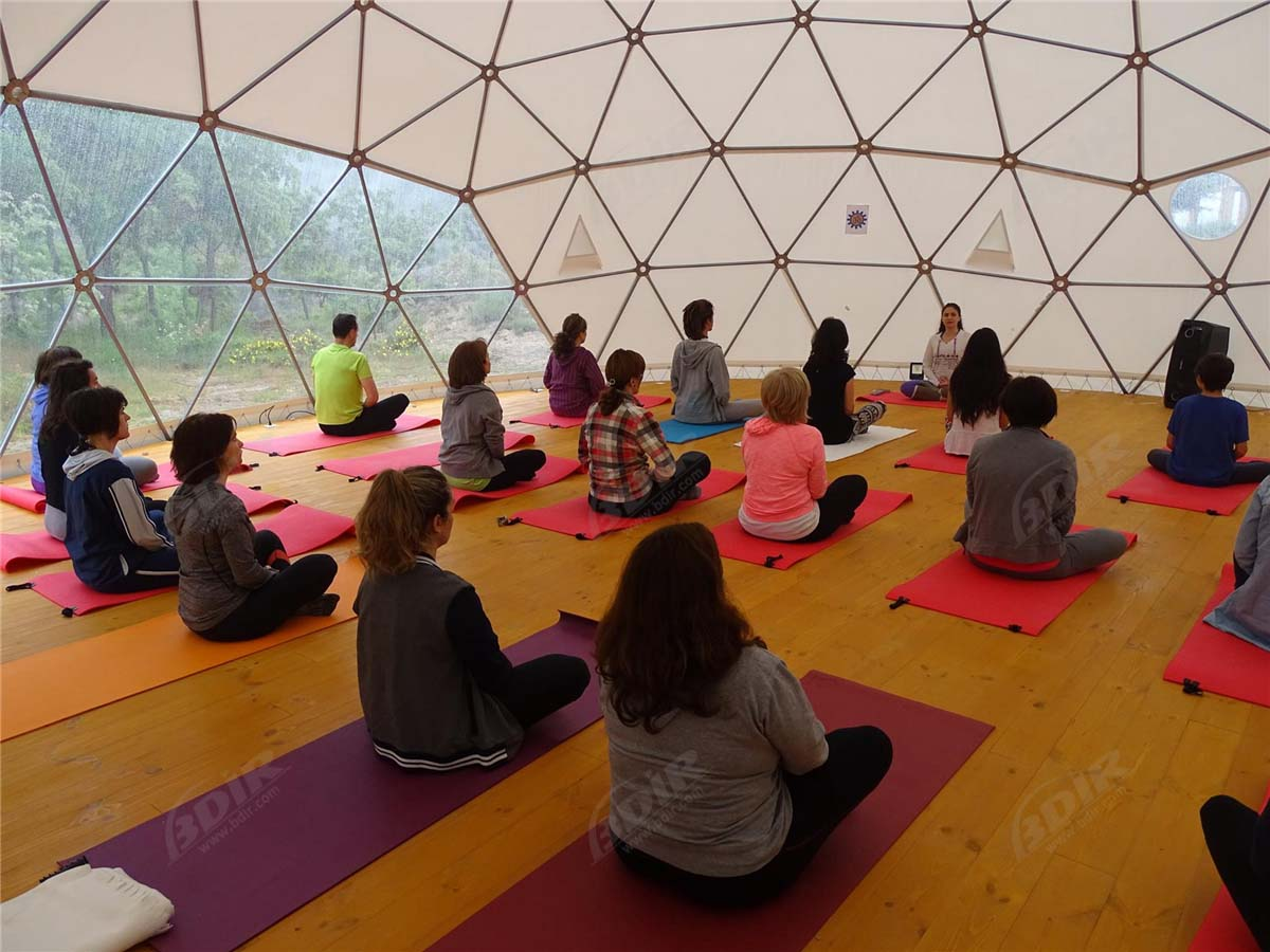 Yoga Domes | Geodesic Dome Shelter | Sport Dome Tent - Supplier & Factory