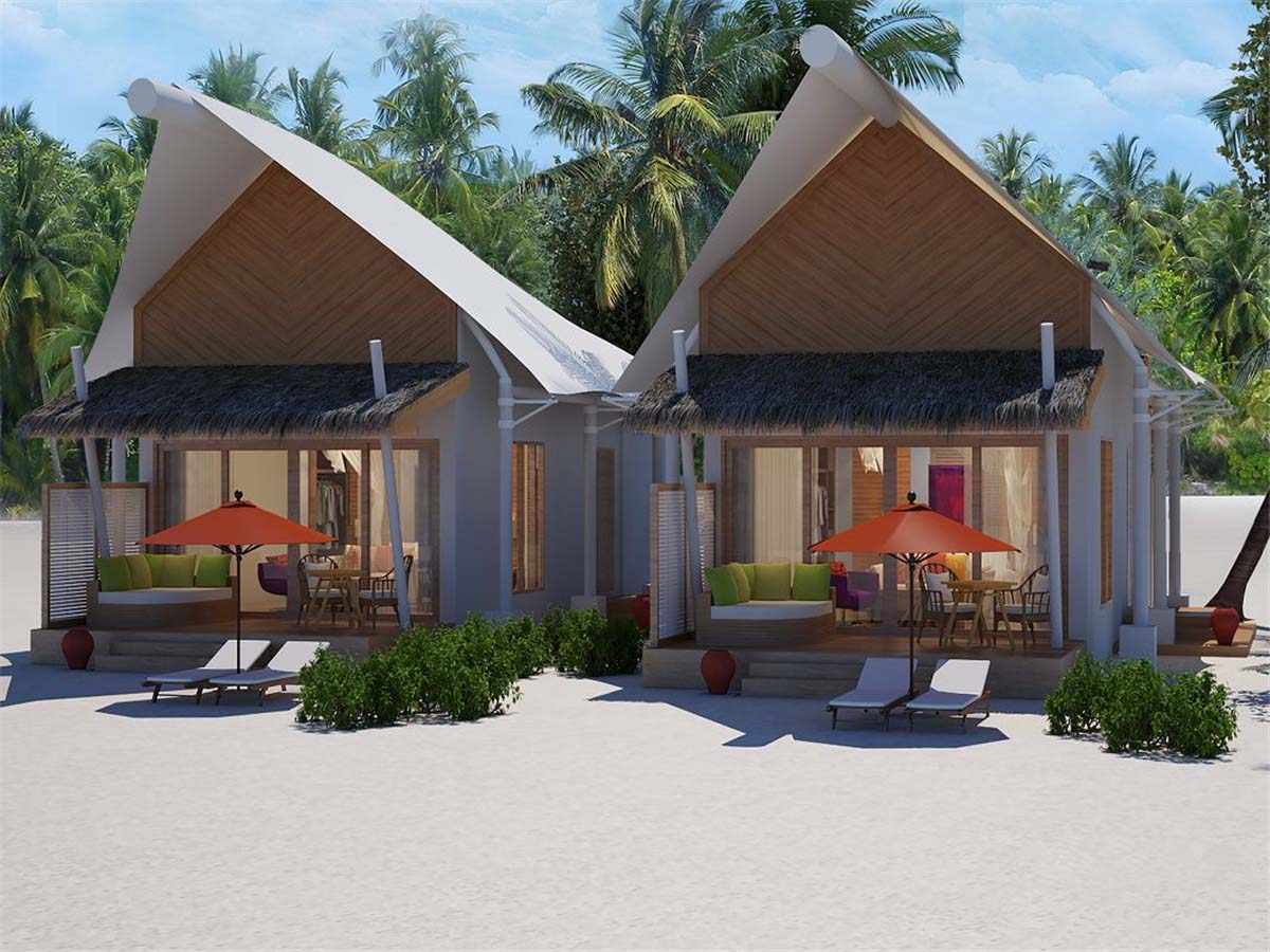 A Beachfront Luxury Tent Resort - Unpoiled Island Tented Resort