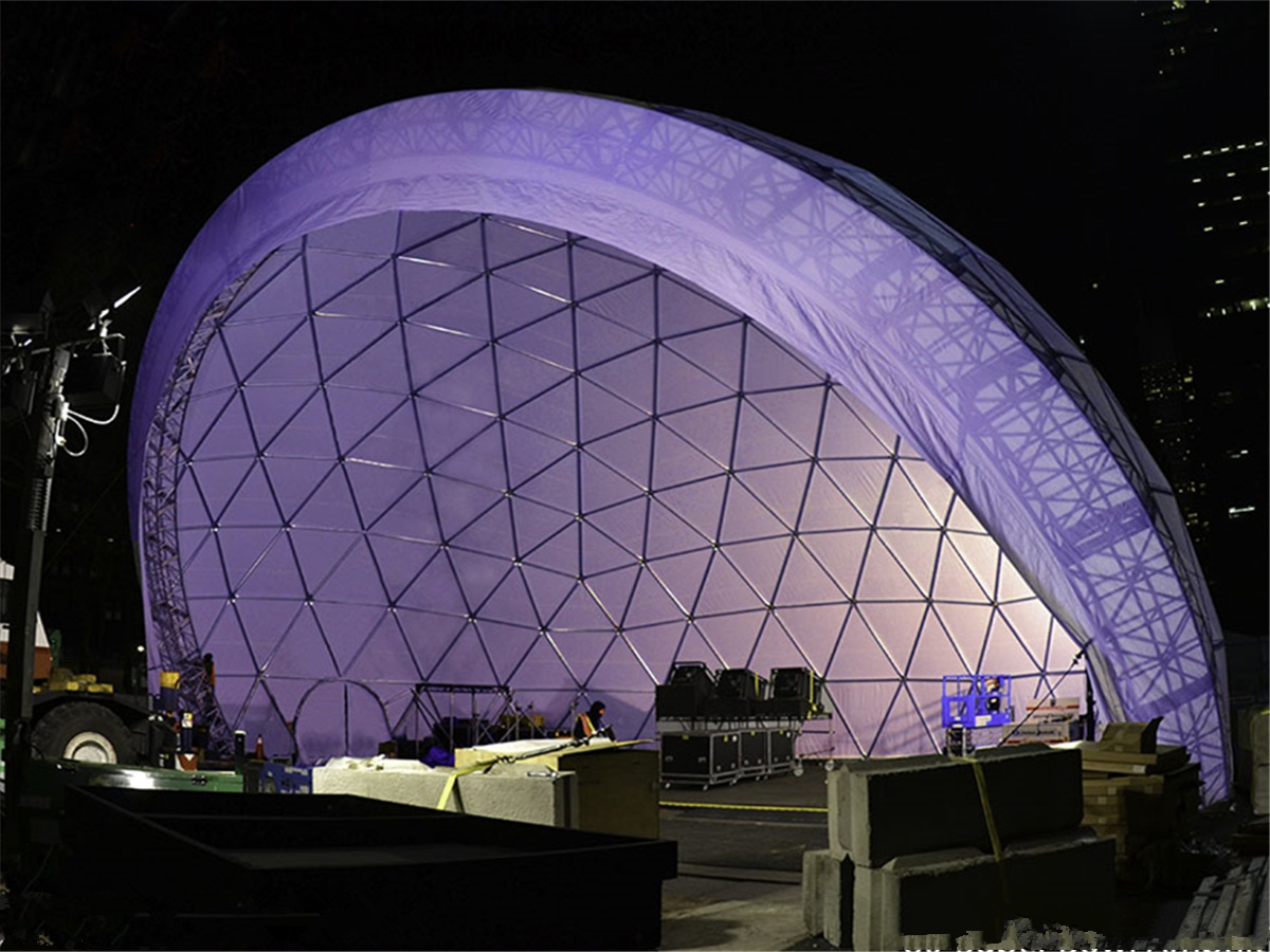 Concert Dome, Festival Structures, Music Event Dome – Design & Supplier