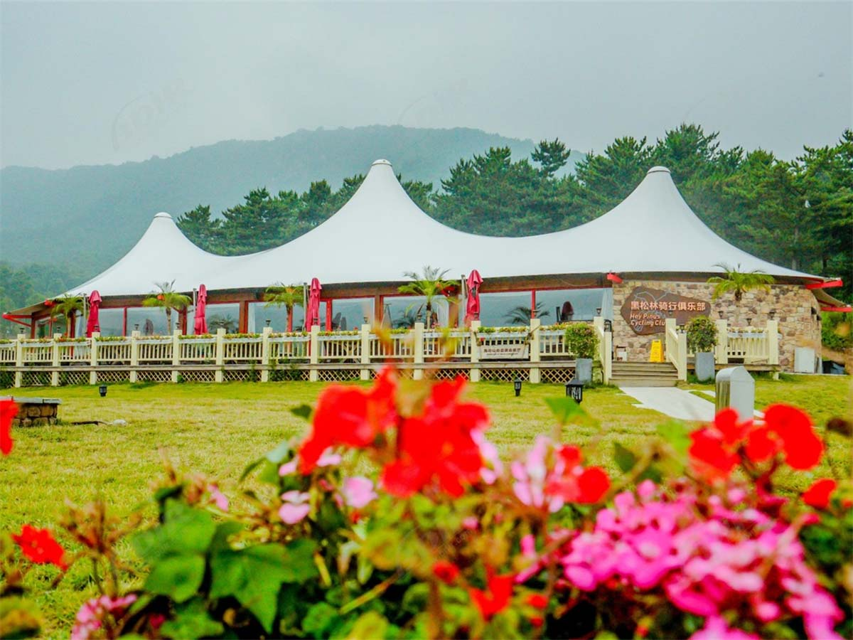 Eco Sustainable RV Holiday Parks & Resort with Tensile Fabric Structure House -  Beijing