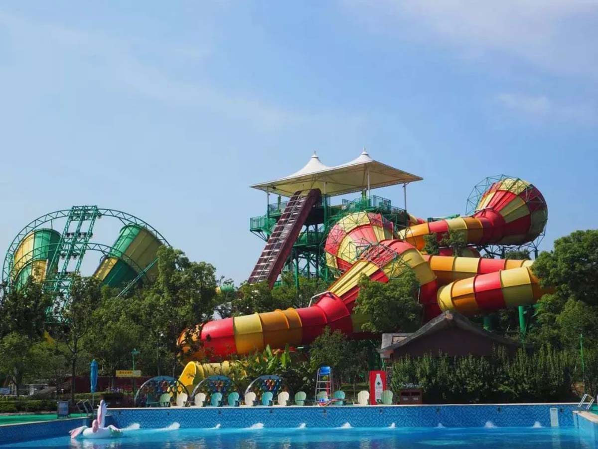 PVDF Fabric Tensile Structure for Outdoor Aquatic Parks - Ganzhou, China