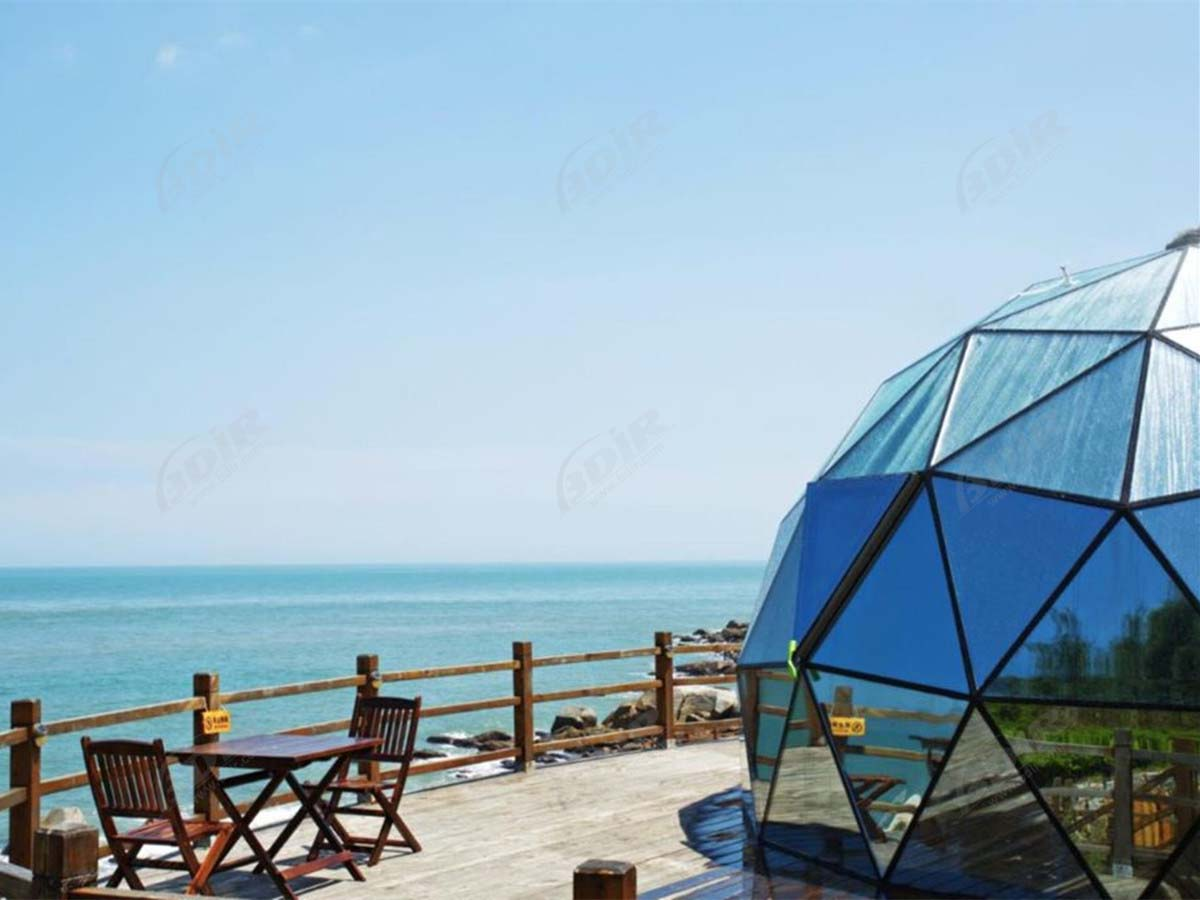 Glass Dome & Igloo House for Remote Island Glamping Resort - Zhangzhou