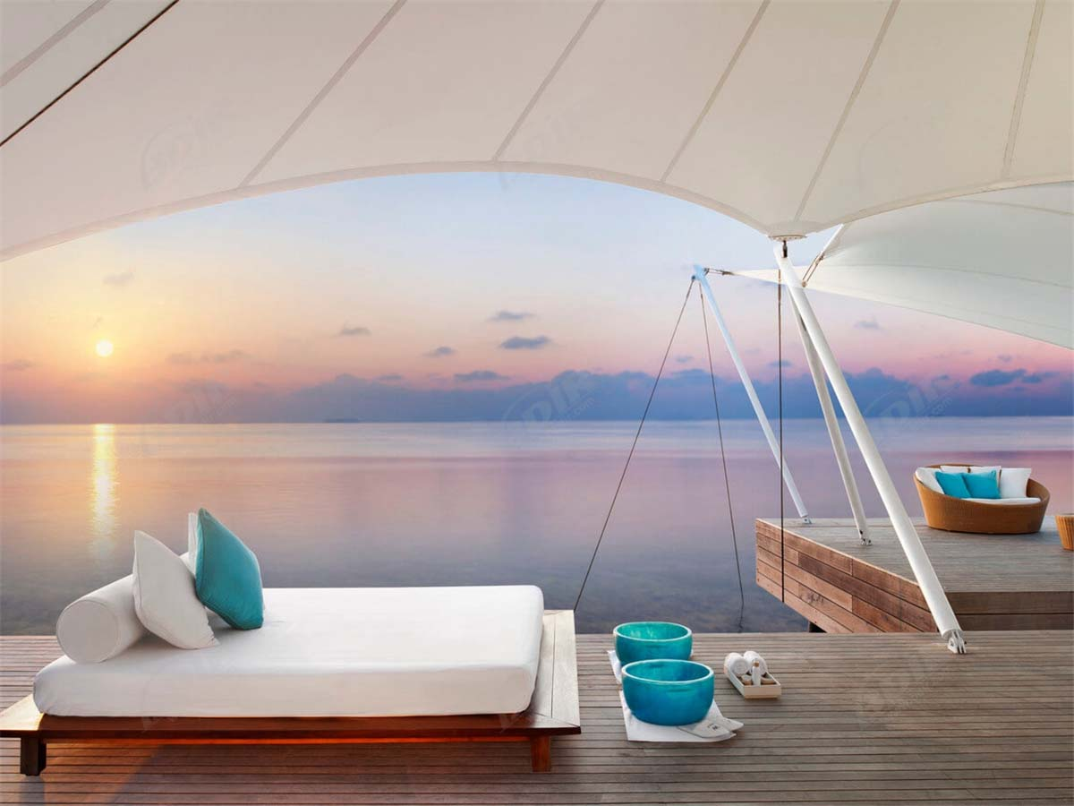 Membrane Structures Roof | Tent Cottage | Fabric House – Maldives