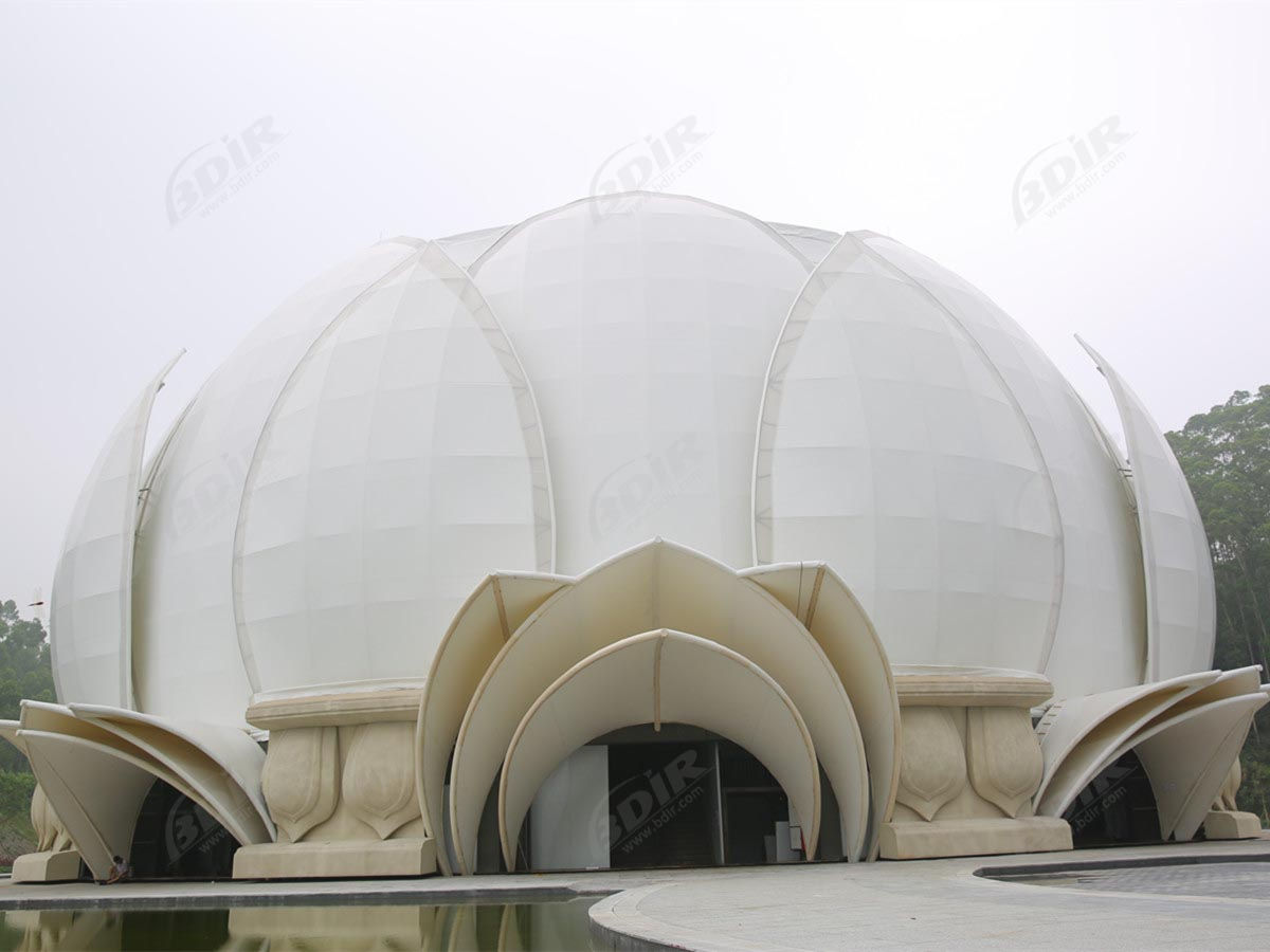 PTFE Fabric Tension Structure for Theater Stage Roof & Facade - Yunfu, China
