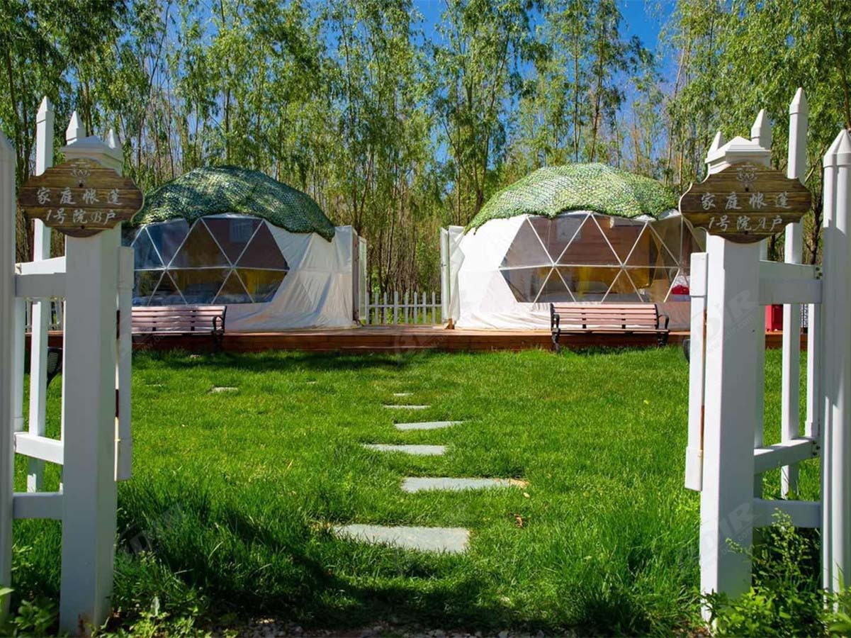 RV Parks & Campgrounds with Geodesic Dome Tent Suites - Beijing