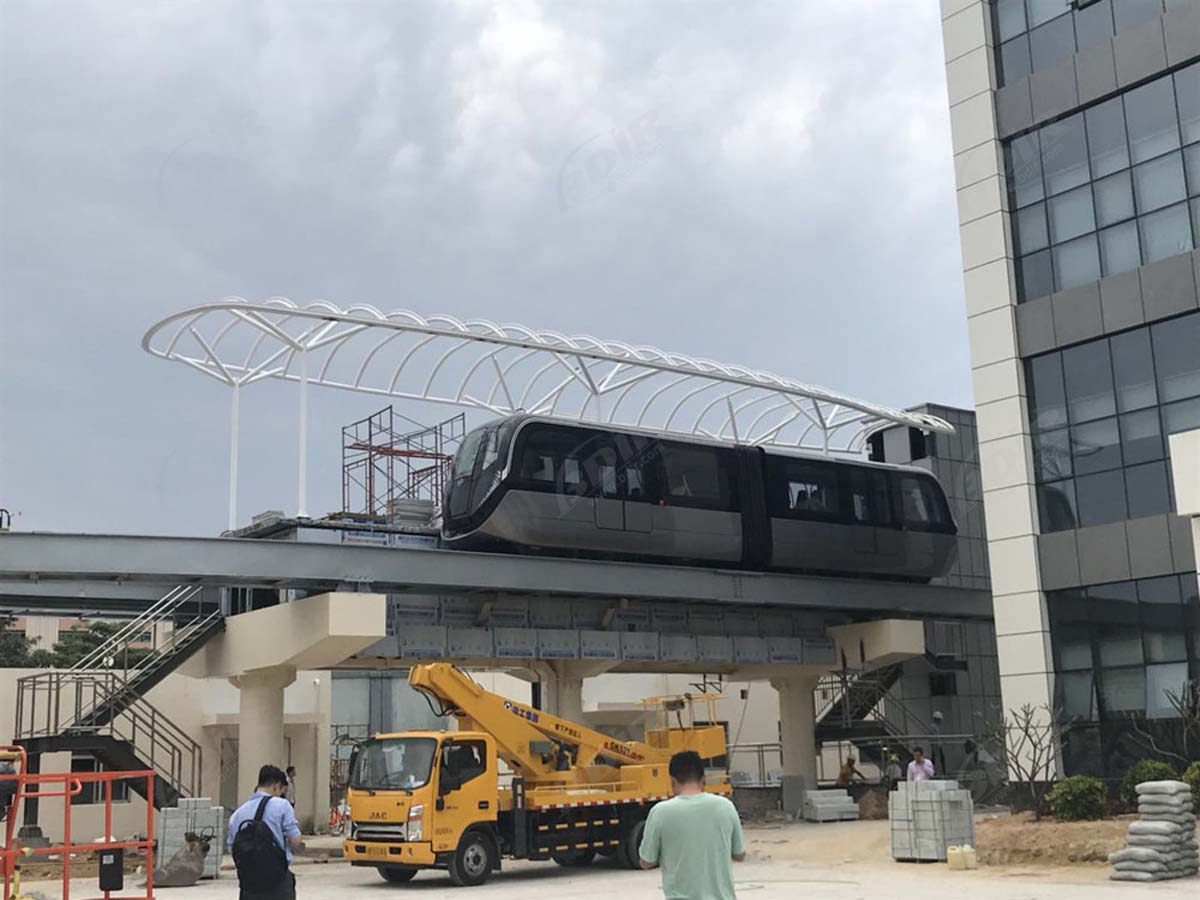 Tensile Fabric Structure for BYD Group Light Rail Station - Shenzhen, China