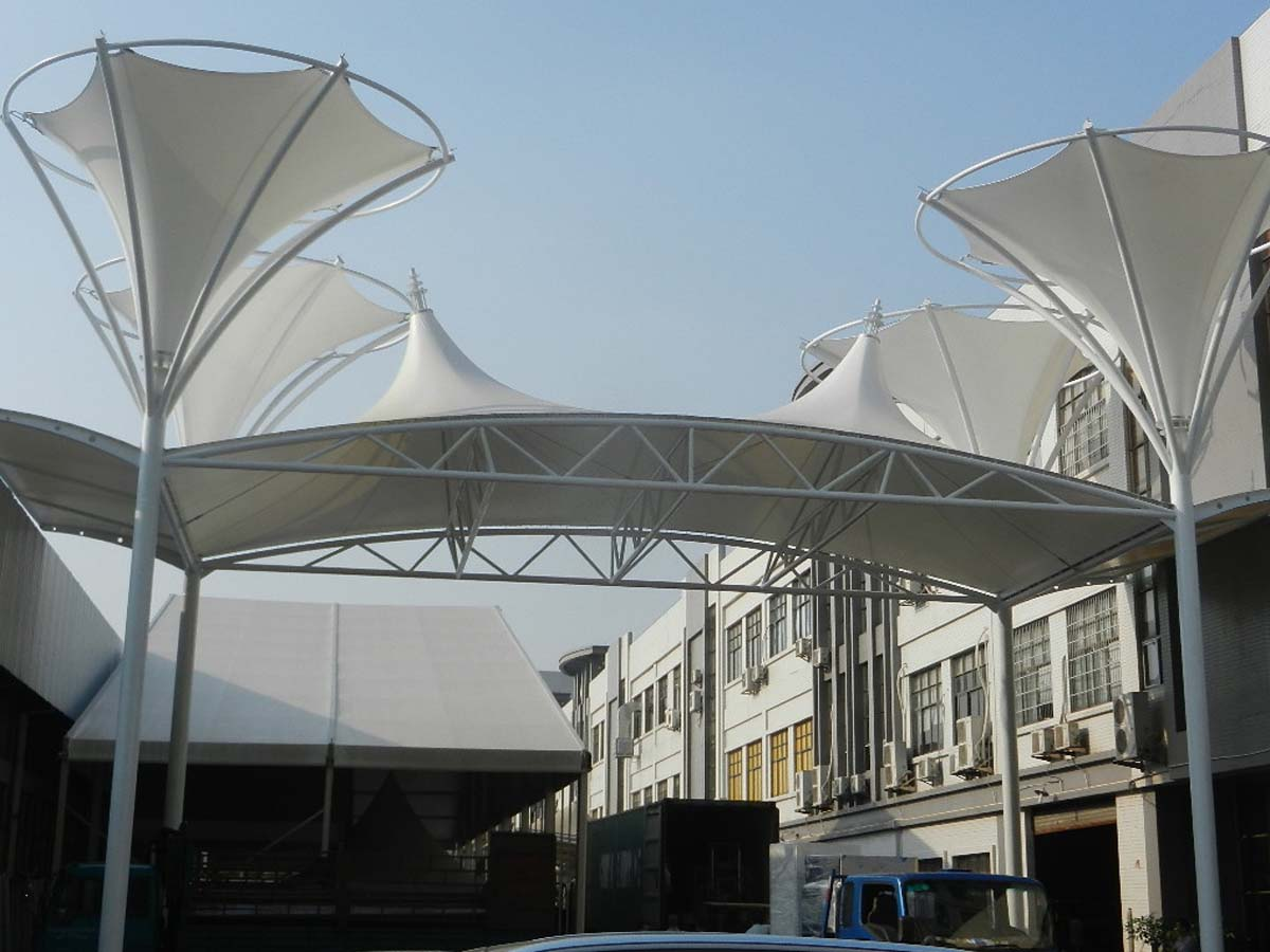 Tensile Roof Structure for Entrance & Gate, Gree Group - Zhuhai, China