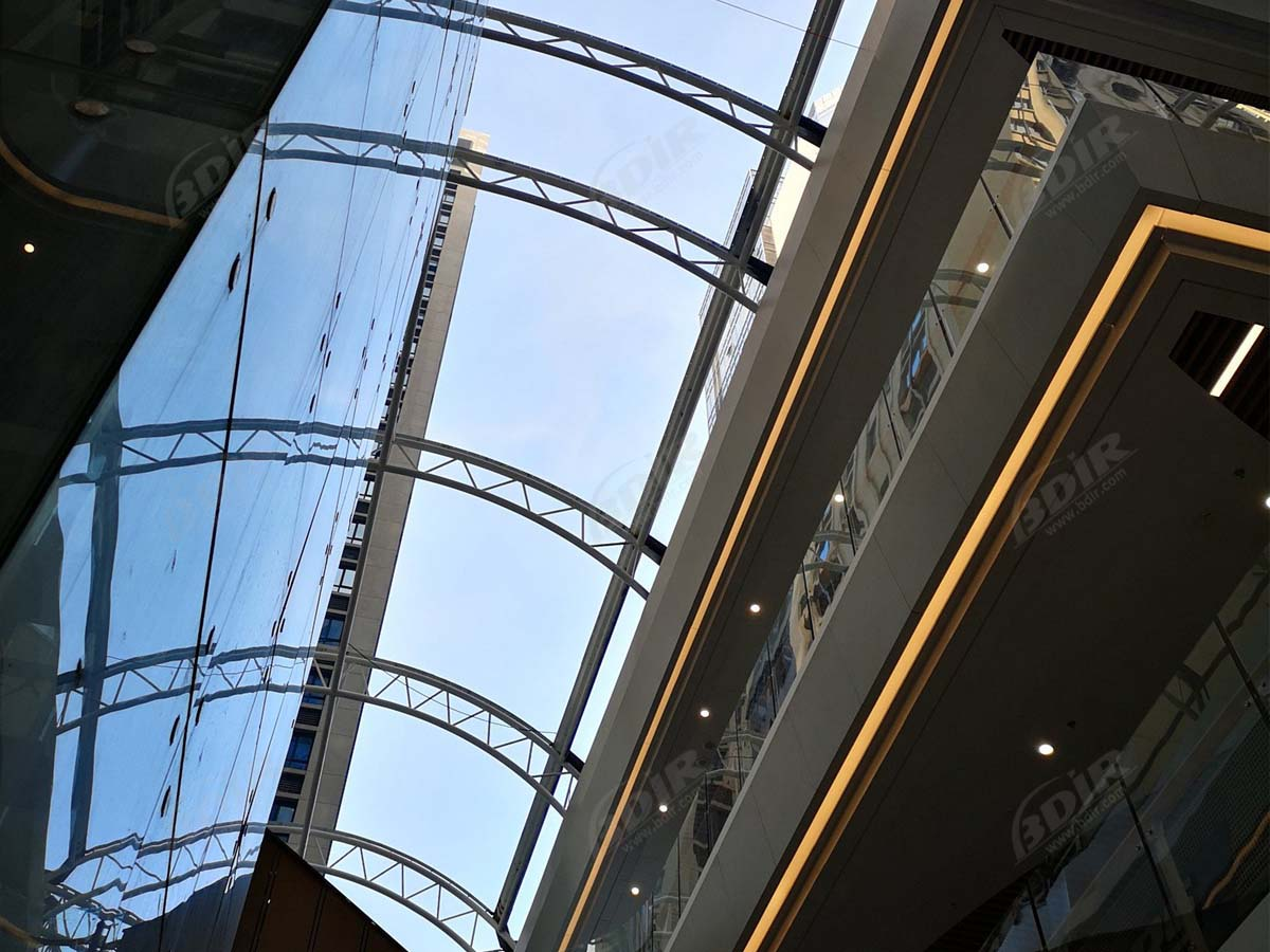 Victoria's Secret Shopping Mall PTFE Tensile Shade & Roof Structure - Macao