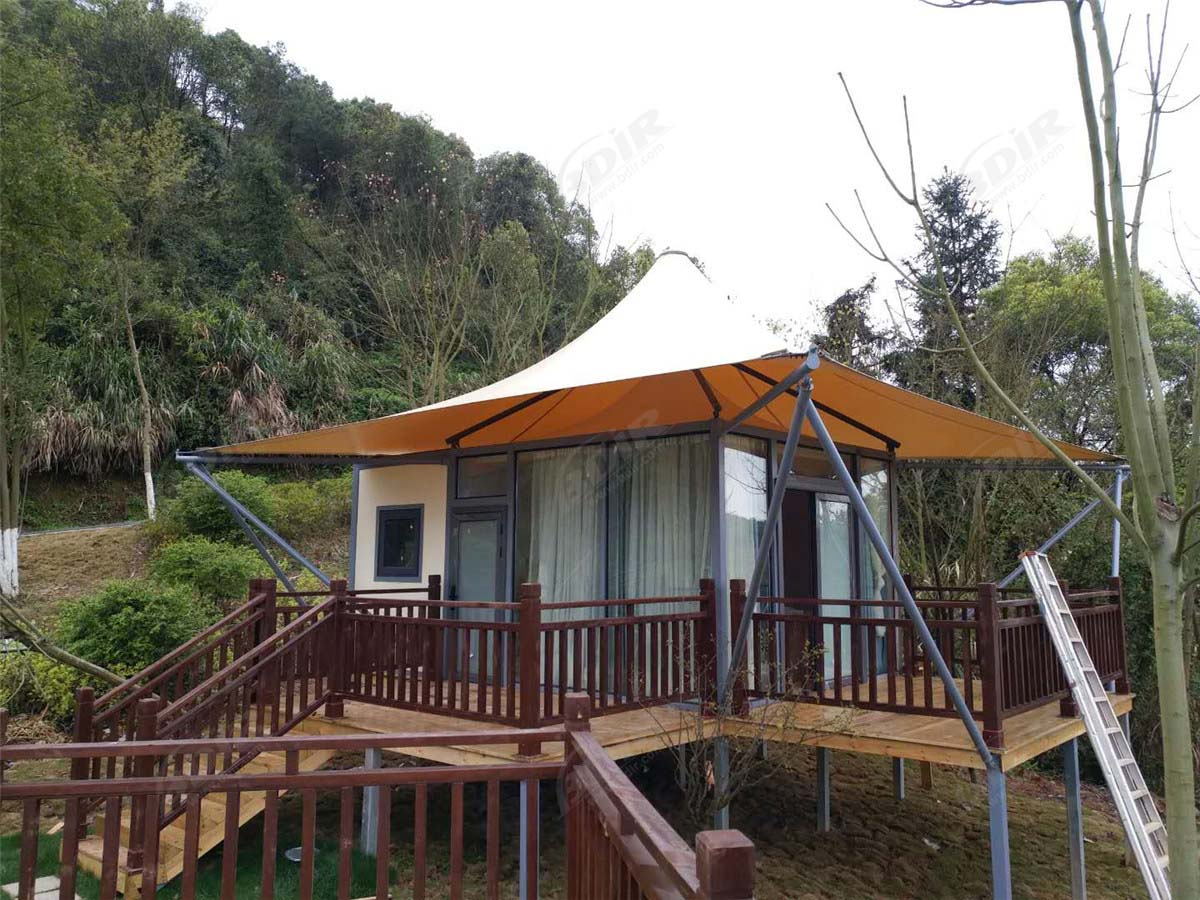 Prefab Villas Tent Glamping Homes & Green Lodge Cabin Kits - Yichun