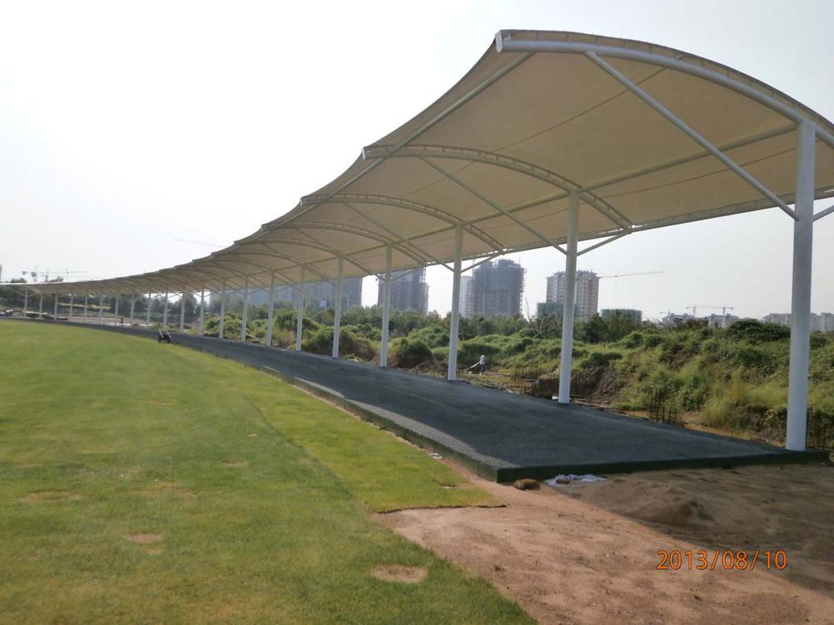 Tensile Roof Structure for Golf Driving Range & Golf Course - Haikou, China