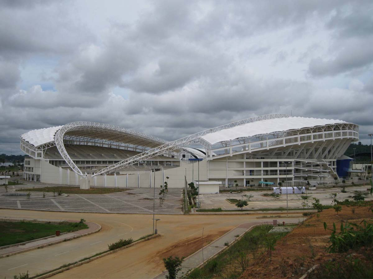 Tensile Structure for Gymnasium & Football Stadium - Nanchang Sports Center