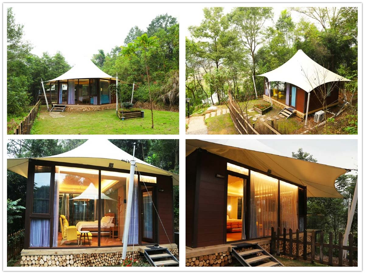 Tent Structure | Tented Cottage | Tents Lodges - Chengdu, China